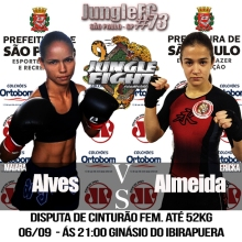 Maiara Alves vs Ericka Almeida