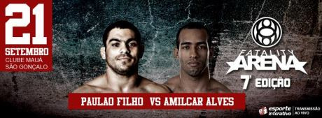 Paulo Filho Amilcar Alves Fatality Arena