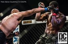 Rodrigo Nocaute superou  Jair Sorriso na 3º edição do MMA Fight Show - Foto Deive Coutinho