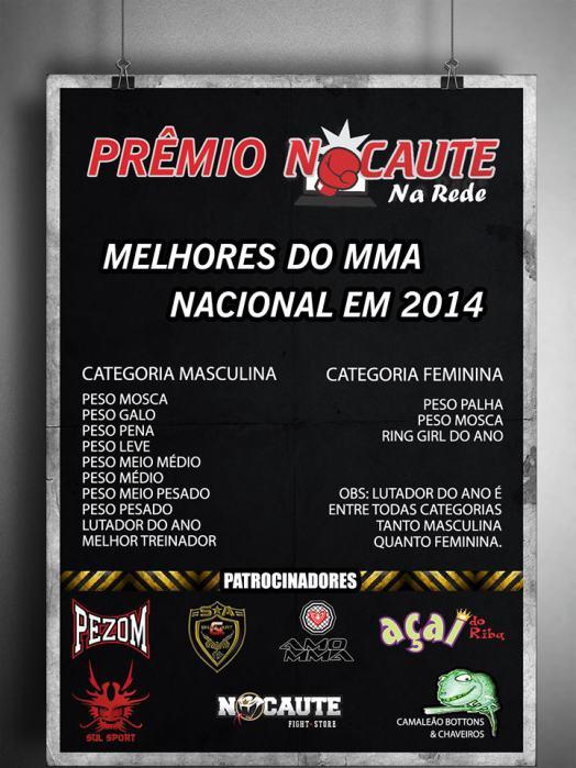 PREMIAÇÃO MELHORES DO MMA NACIONAL EM 2014