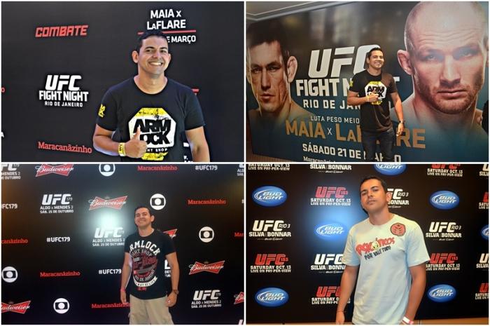 Coberturas no UFC Rio