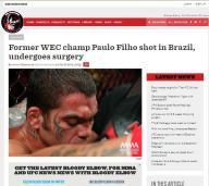 Site internacional Elbow - matéria exclusiva sobre Paulão Filho.