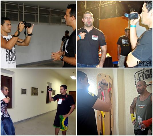 Entrevista exclusivas com atletas, treinadores, etc