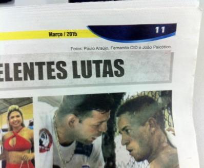 Publicação em Jornal com foto Psicóticos por VT
