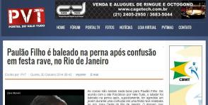 Site PVT, publicação da matéria exclusiva Psicóticos por VT.