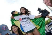 A conquista do torneio do XFC fez a cidade mineira parar para homenagear Poliana