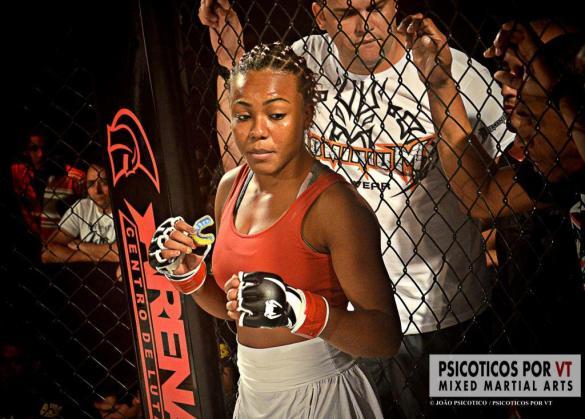Michelle Platenik e um grande promessa do MMA Feminino