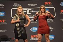 Ronda e Bethe prometem uma grande batalha para o publico brasileiro