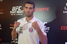 """Léo Santos: """"Minha ideia é ser um lutador cada vez melhor."""""""