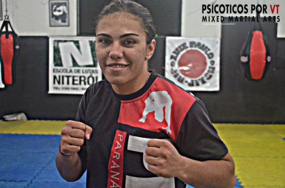 Jessica Andrade e a maior representante Brasileira no UFC