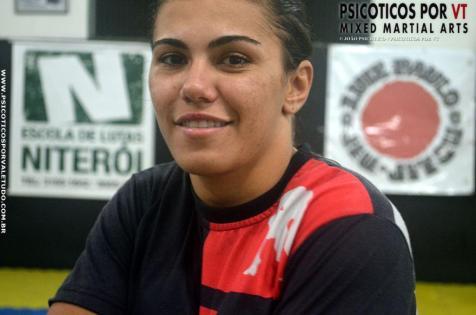 Jessica Bate Estaca e uma das estrelas femininas do Brasil no UFC