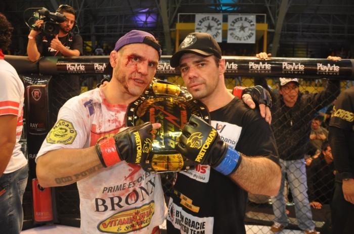 Apesar da rivalidade, atletas demonstraram muito respeito um com o outro Foto: Marcos Santos