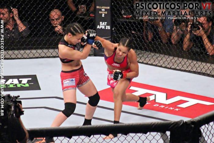 Shayna Baszler vs Amanda Nunes