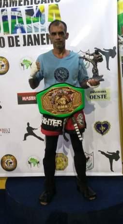 O mestre Beto Padilha mostrou que para o esporte não ha idade e tbm se sagrou campeão