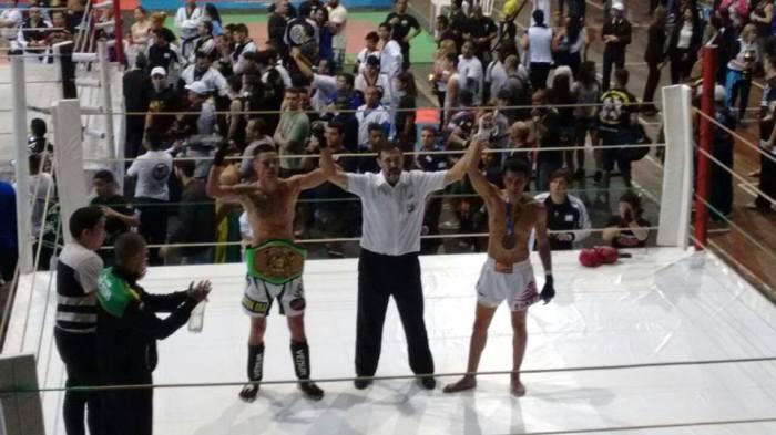 Rodrigo Element se sagrou  Campeão Panamericano de artes marciais Semi pro Faixa Preta até 71