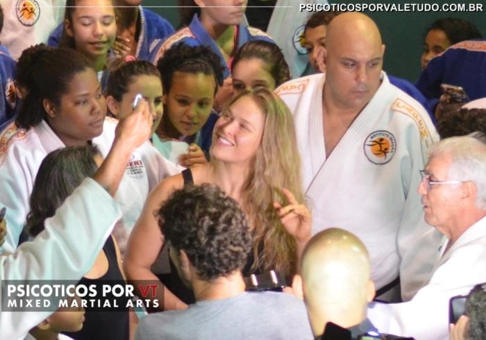 Ronda cercada pelo judocas do Reação