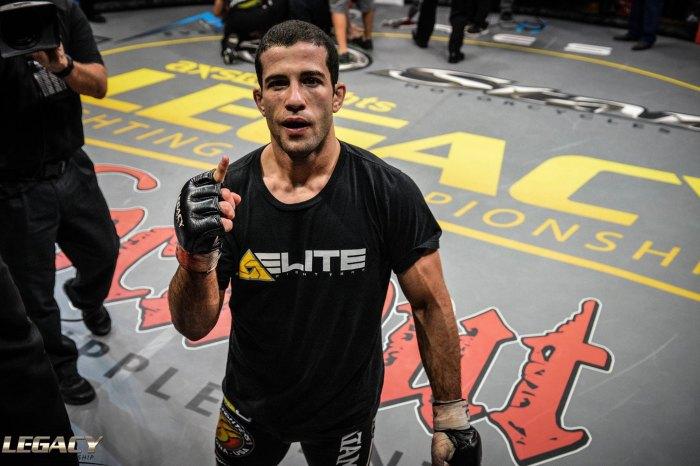 Augusto Tanquinho busca sua sexta vitória no MMA em outubro (Divulgação/Legacy FC)