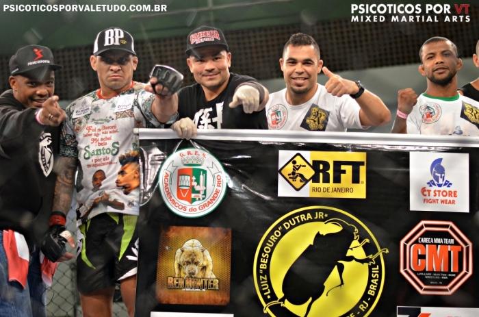 Luiz Besouro superou Vinicius Bohrer e voltou a vencer após passagem pelo UFC