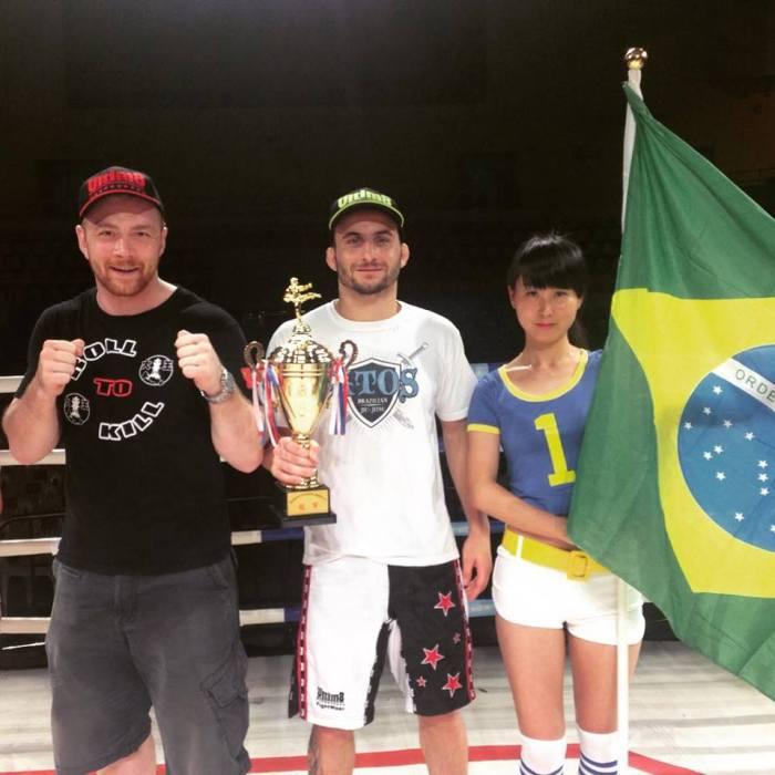 Denilson campeão de MMA / Foto: Divulgação