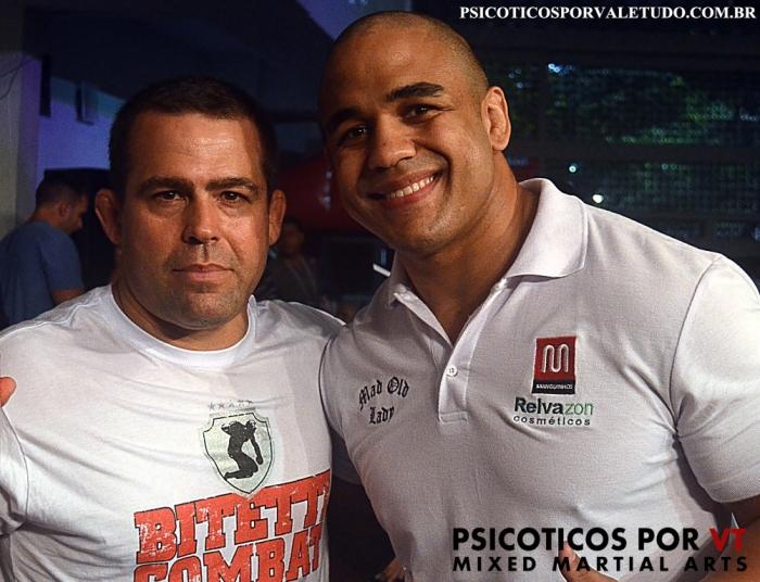 Amauri Bitetti e Rafael Feijão