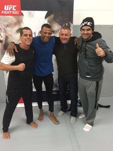 Mestre Phillip Lima, Alex Cowboy , Alex Davis e Otavio Tatá Duarte