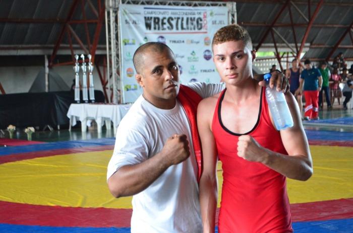 Wrestling - Emerson Henrique e Paulo Artur - Equipe Pró-Fitness - by Emanuel Mendes Siqueira