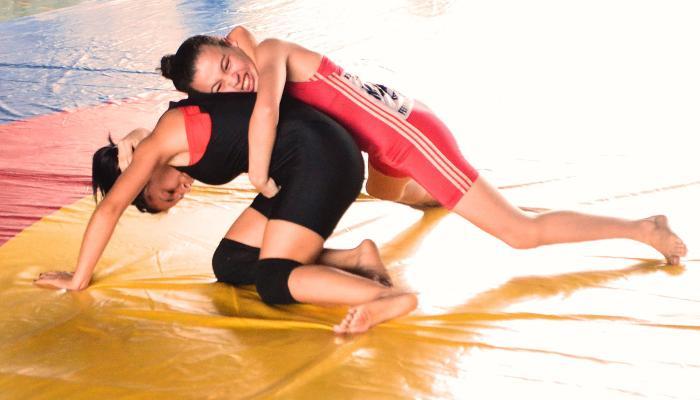 Wrestling - Ketellen Regina Fernandes - campeã - Amazonas Club da Luta - by Emanuel Mendes Siqueira