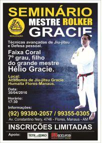 JJ - SEMINÁRIO ROLKER GRACIE - MANAUS