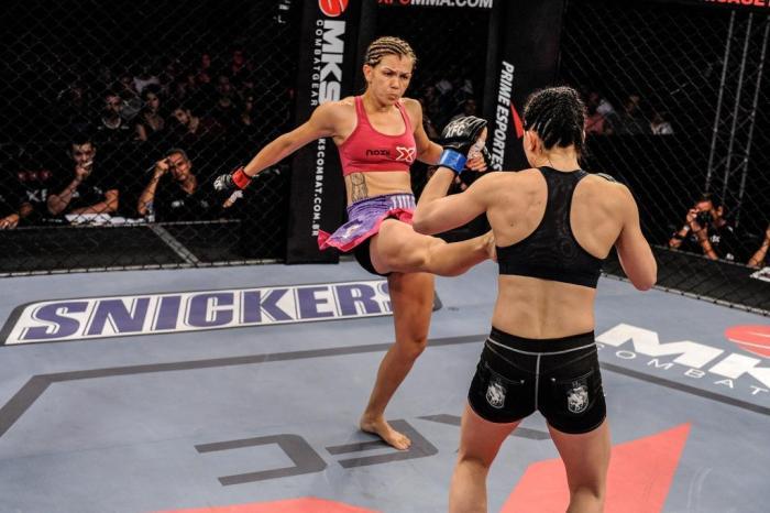 Experiente, Julie Werner soma um total de oito vitórias e cinco derrotas. Foto: Fusion Photography