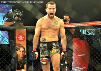 Mario Soldado soldado é um dos destaques do MMA nacional