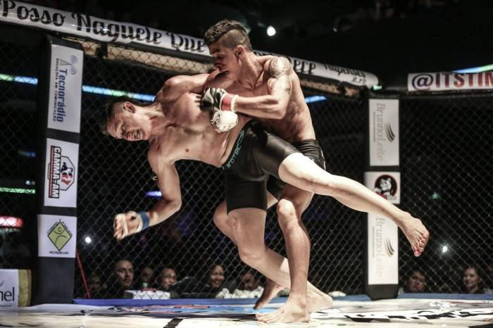 Its Time Combat 6 - luta da noite - Luan Fernandes vence Lucas Ananias -  by Michael Dantas