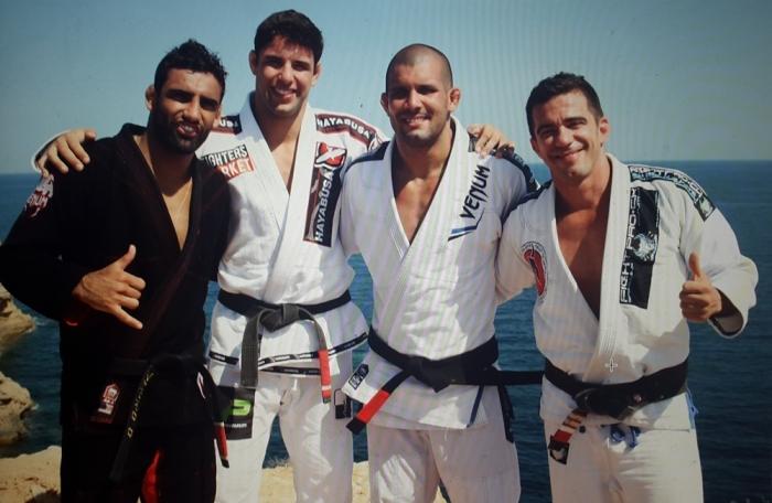 Leandro Lo, Marcus _Buchecha_, Rodolfo Vieira e Augusto Frota
