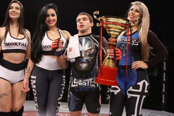 Bontorin assinará contrato de três lutas com o Pancrase após vencer GP. Foto: Marcio Valle/Primeiro Round