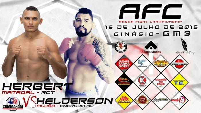 ARENA FIGHT - HERBERT MATAGAL X HELDERSON FILHÃO