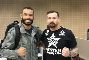 Cristiano Marcello estará no córner do estreante no UFC (Divulgação)