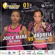 JOICE MARA DA SILVA X ANDREIA CERDEIRA