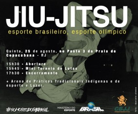 Torneio organizado pela  (CBJJ)