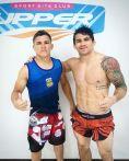 Tourinho e Ronys Torres na Upper-RJ