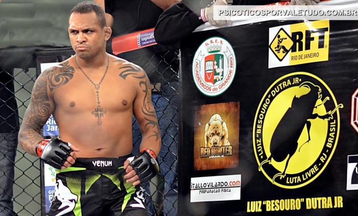 Besouro vem treinando forte para seu próximo desafio que valerá o cinturão 77kg.