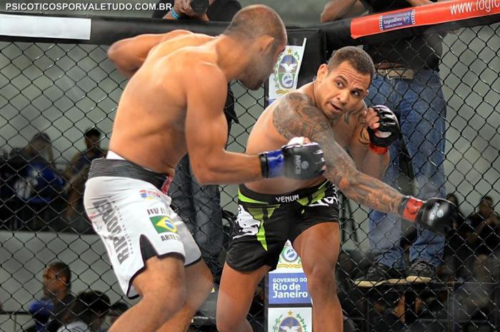 Luiz Besouro é ex.TUF e UFC e se destaca no cenário do MMA nacional hoje me dia