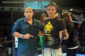 Benito Macapá conquistou o cinturão inaugural 70kg do evento.