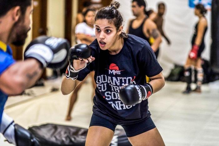 Poliana vai estrear no UFC depois de um ano fora de combate . FOTO: Alexandre Loureiro/Inovafoto
