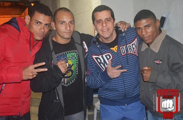 Gato Preto, mestre Phillip Lima e equipe.