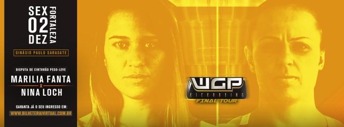 Marilia Fanta e Nina Loch disputam cinturão inaugural do WGP