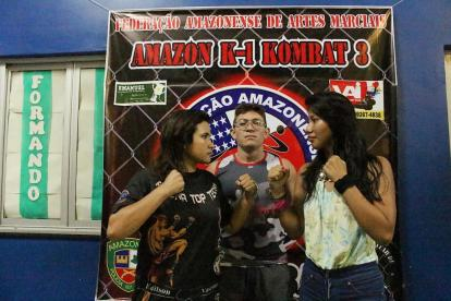 K1 Amazon Kombat 3 - atletas do evento by Emanuel Mendes Siqueira