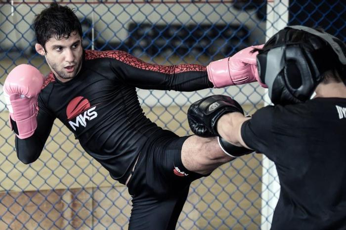 Allan Puro Osso é uma das promessas da Chute Boxe Diego Lima. Gaspar Nóbrega/Inovafoto