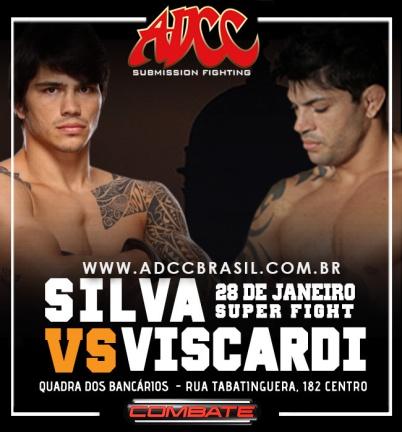 O evento o confronto entre os lutadores do UFC Erick Silva e Viscardi Andrade