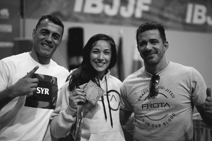Katel Kubis, Gezary Matuda e Augusto Frota. Foto:Divulgação