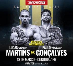 "Diego Lima vs Paulo ""Bananada"" Gonçalves"