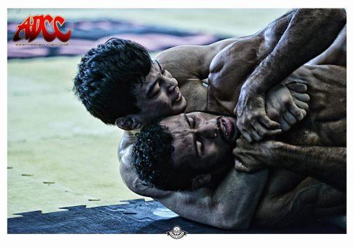 Paulo Miyao Finaliza Bruno Silva final 66kg. Foto: Assessoria